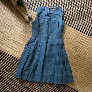 Older gap blue cotton dress